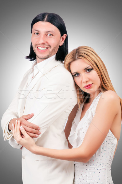 Pair of man and woman in love Stock photo © Elnur