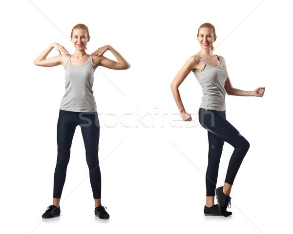 Zestaw kobieta dziewczyna sexy ciało Zdjęcia stock © Elnur