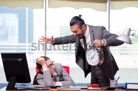 Empresario colgante quiebra traje muerte trabajador Foto stock © Elnur