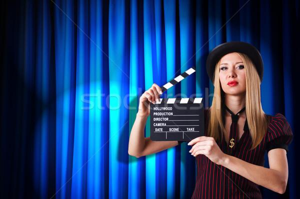 女性 暴力団 映画 映画 背景 セキュリティ ストックフォト © Elnur