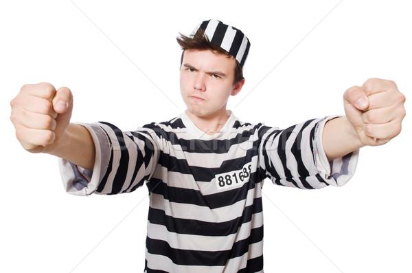 Stok fotoğraf: Komik · hapis · tutuklu · hukuk · polis · adalet