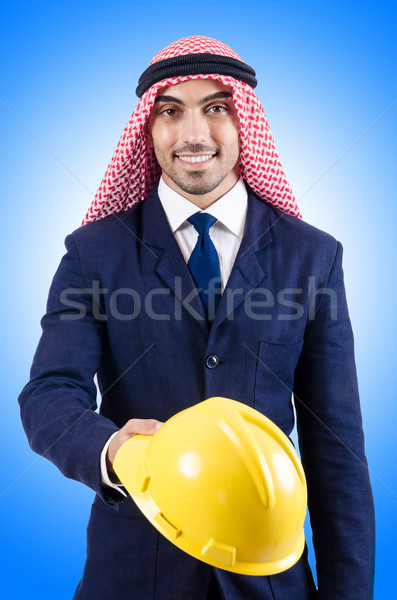 Arab zakenman geïsoleerd witte business technologie Stockfoto © Elnur