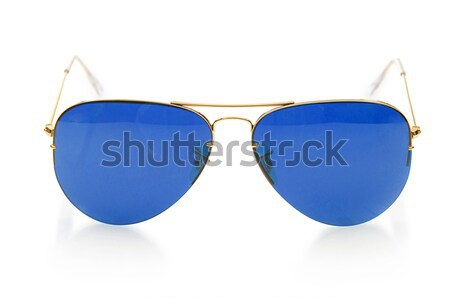 Elegante zonnebril geïsoleerd witte licht glas Stockfoto © Elnur