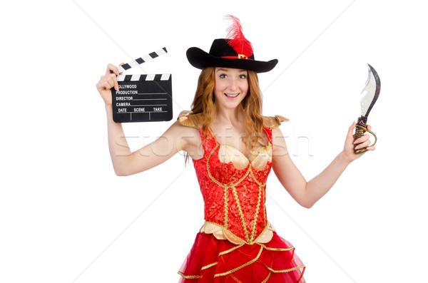 ストックフォト: 女性 · 海賊 · 映画 · ボード · 芸術 · ビデオ