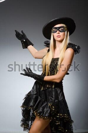 女性 海賊 シャープ ナイフ パーティ ファッション ストックフォト © Elnur
