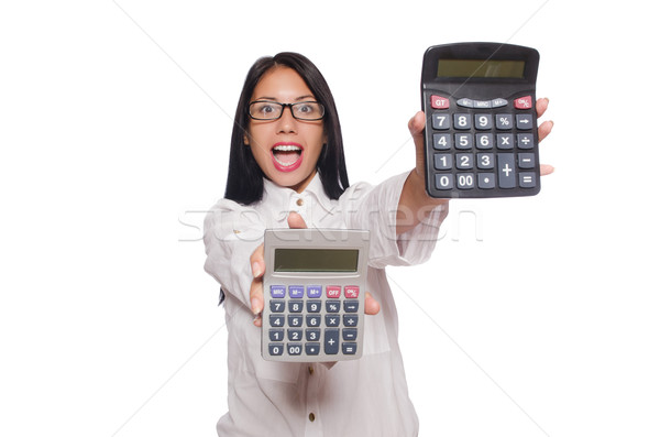 Young woman in business concept Stock photo © Elnur