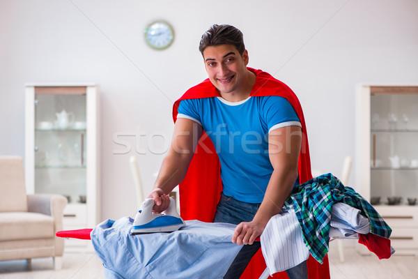 Homme mari maison famille Photo stock © Elnur
