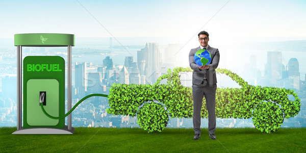 Concept of bio fuel and ecology preservation Stock photo © Elnur
