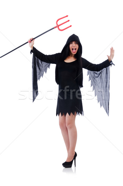 Young woman in halloween concept Stock photo © Elnur