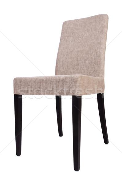 Jadalnia krzesło odizolowany biały biuro meble Zdjęcia stock © Elnur
