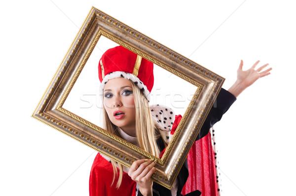 Frau Königin funny Arbeit Geschäftsmann Executive Stock foto © Elnur