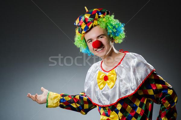 Funny clown in humor concept Stock photo © Elnur