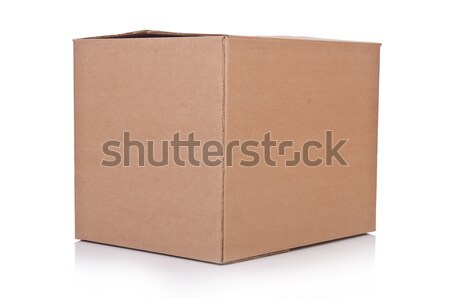Carton boxes isolated on the white background Stock photo © Elnur