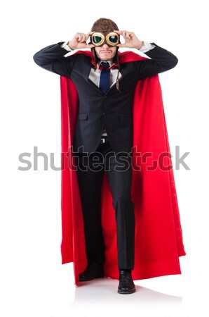 Female wearing devil costume and trident Stock photo © Elnur
