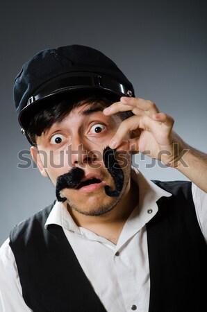 Criminal listrado uniforme segurança lei Foto stock © Elnur