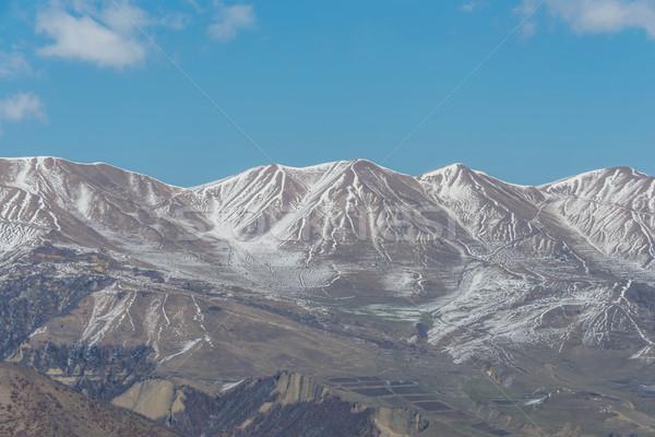 зима гор регион Азербайджан пейзаж снега Сток-фото © Elnur