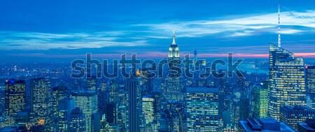 New York dicembre 20 2013 view abbassare Foto d'archivio © Elnur