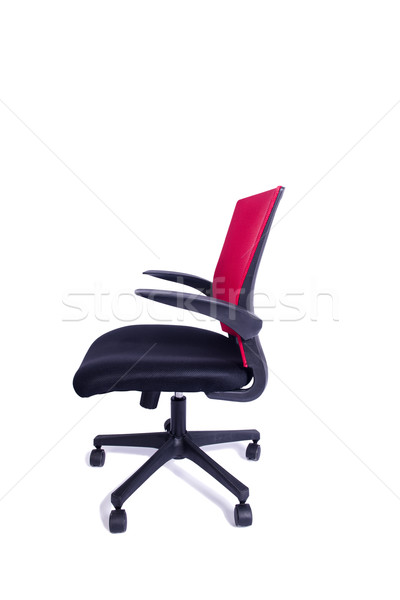 красный офисные кресла изолированный белый служба дизайна Сток-фото © Elnur