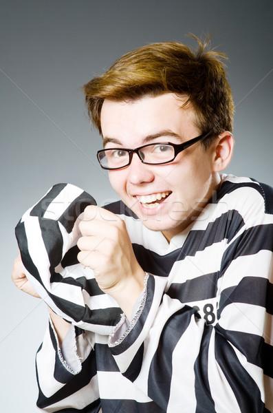смешные тюрьмы заключенный прав полиции правосудия Сток-фото © Elnur