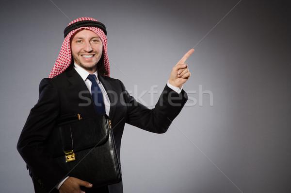 阿拉伯 男子 多樣 業務 商人 屏幕 商業照片 © Elnur