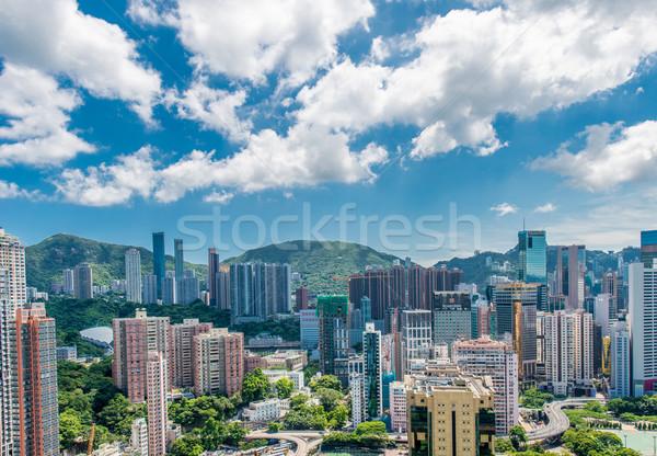 мнение Гонконг небе воды здании Сток-фото © Elnur