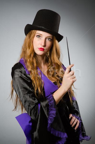ведьмой грязные стороны улыбка костюм портрет Сток-фото © Elnur