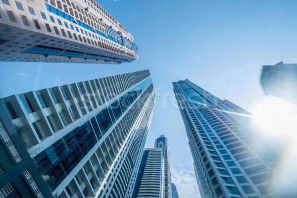 Alto Dubai marina rascacielos agua edificio Foto stock © Elnur