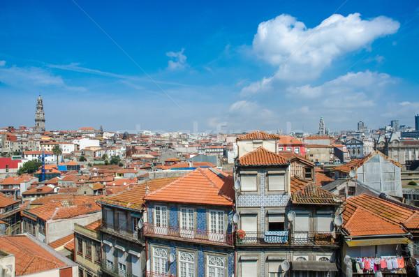 View of Porto city on summer day Stock photo © Elnur