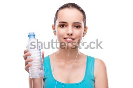 女性 ボトル 緑 香水 少女 ストックフォト © Elnur