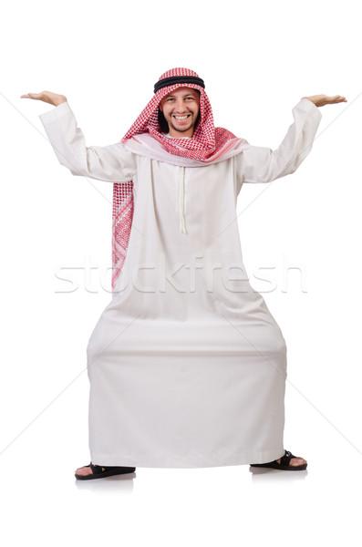 арабских человека далеко виртуальный препятствие Сток-фото © Elnur