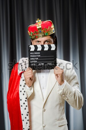 Inmate with the movie clapper Stock photo © Elnur