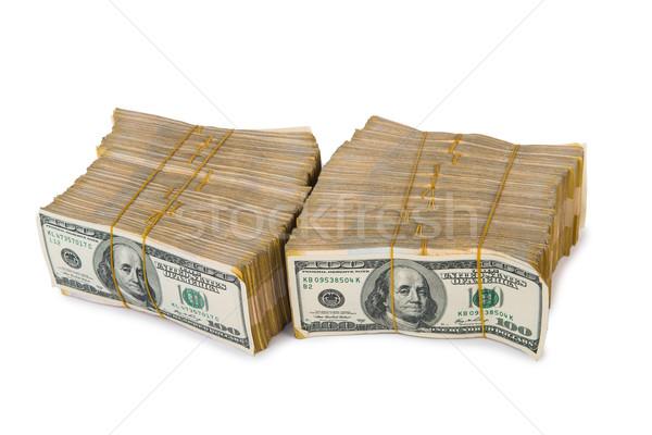 Americano dólar isolado branco negócio Foto stock © Elnur