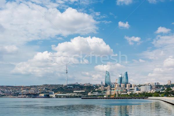 The day view of baku azerbaijan architecture Stock photo © Elnur