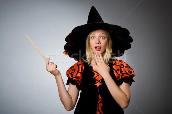 Witch doing her dirty tricks  Stock photo © Elnur