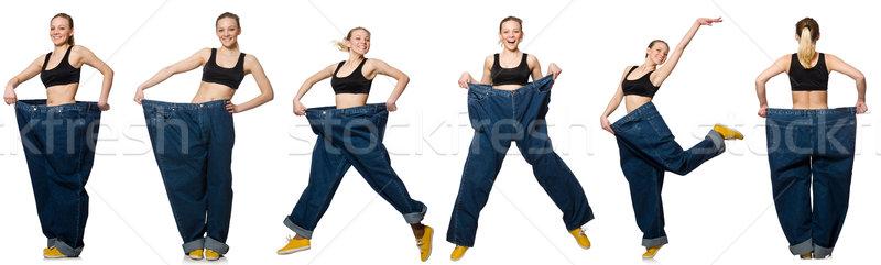 Photo femme régime fille heureux Photo stock © Elnur
