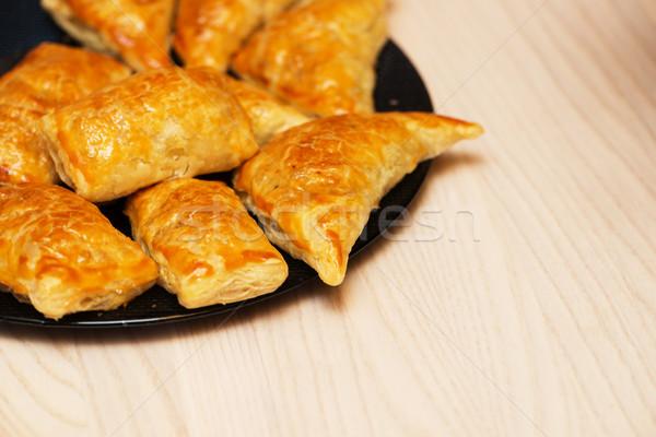 фаршированный мяса пластина продовольствие обеда завтрак Сток-фото © Elnur