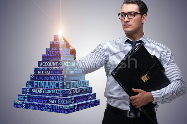 Businessman in ponzi scheme concept Stock photo © Elnur