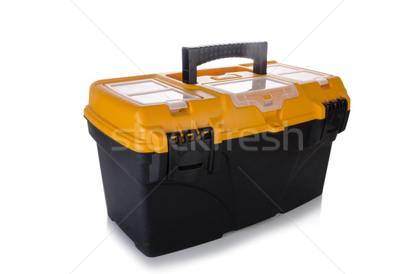 Toolkit box isolated on the white background Stock photo © Elnur