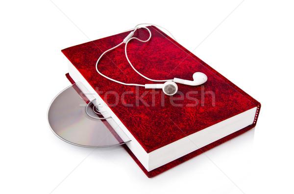 Audio livres blanche musique technologie Photo stock © Elnur