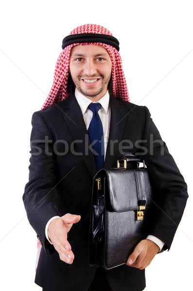 Arab man diversiteit business zakenman asian Stockfoto © Elnur