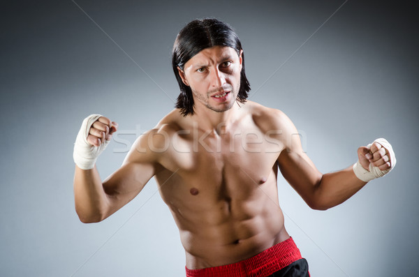 боевыми искусствами эксперт подготовки стороны тело фитнес Сток-фото © Elnur