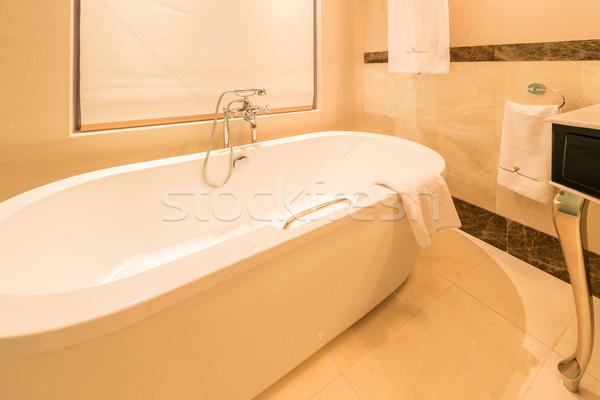 Modern banyo iç su sağlık Stok fotoğraf © Elnur