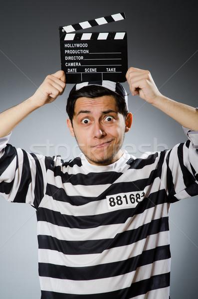 ストックフォト: 受刑者 · 映画 · ボード · 映画 · 警察 · 正義
