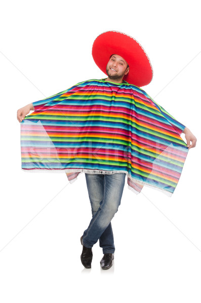 Funny mexican isolated on white Stock photo © Elnur