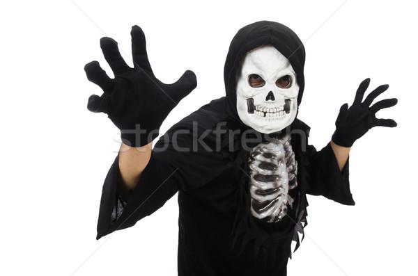 Scary człowiek halloween ciało muzyka noc Zdjęcia stock © Elnur