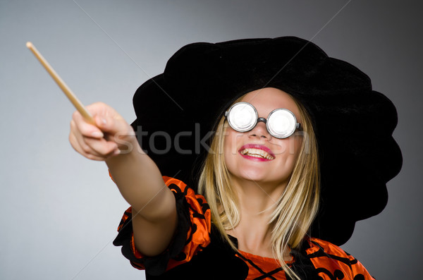 Witch doing her dirty tricks  Stock photo © Elnur