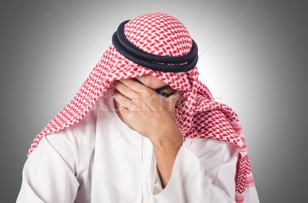Różnorodności Emiraty biały działalności szczęśliwy pracy Zdjęcia stock © Elnur