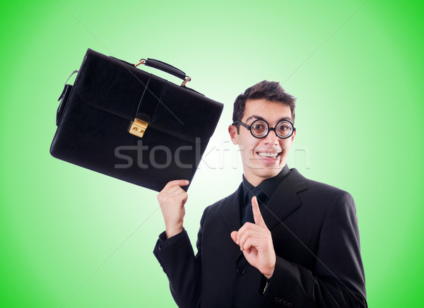 Nerd affaires gradient affaires travaux costume Photo stock © Elnur