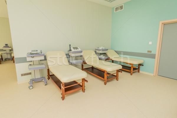 Stanza moderno ospedale tecnologia finestra medicina Foto d'archivio © Elnur