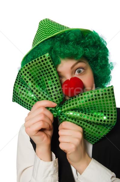 Grappig persoon vakantie glimlach partij Stockfoto © Elnur
